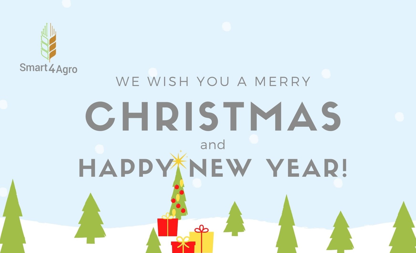 We wish you a Merry Christmas and Happy New Year - Smart4Agro